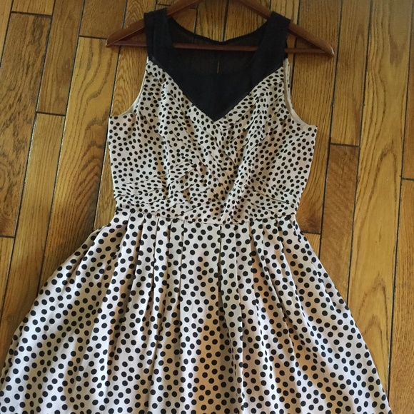 New Condition LC black and pink dress